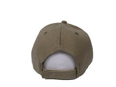 USA U.S. American Flag Tan Patch CAP610A Hat