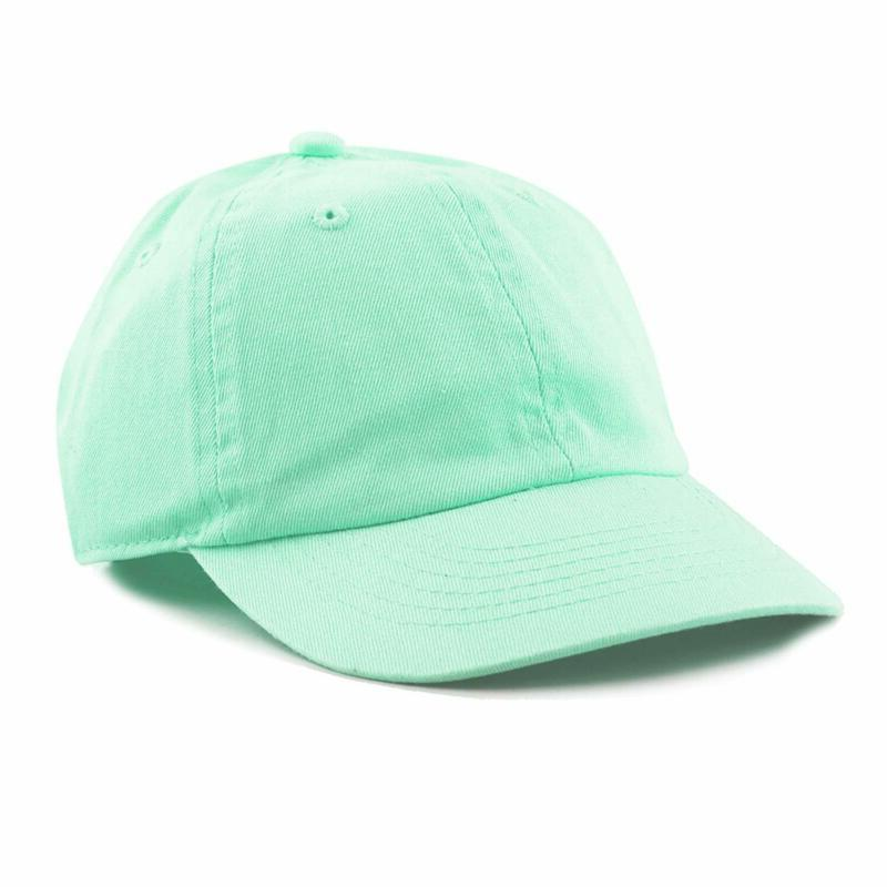 The Hat Depot Kids Washed Low Profile Cotton And Denim Plain