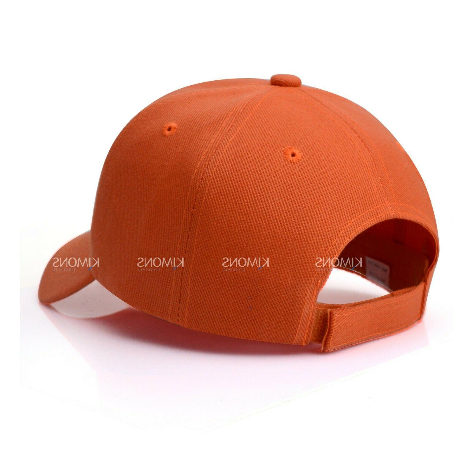 Loop Plain Cap Solid Color Blank Visor Hat Ball Men