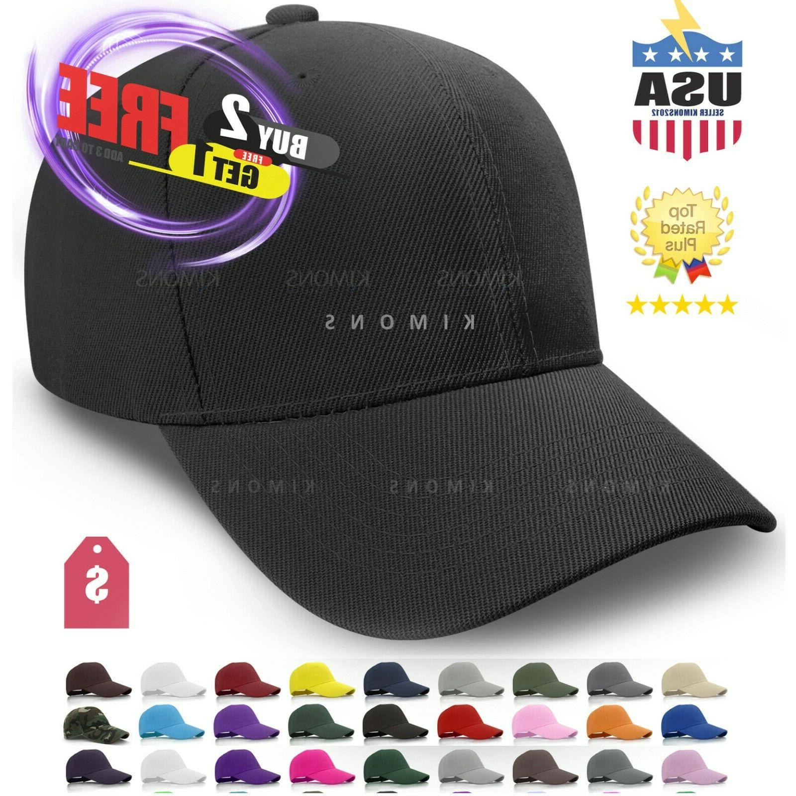 loop plain baseball cap solid color blank