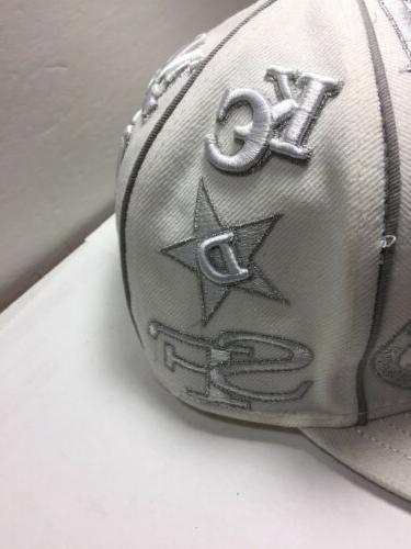 Major Baseball Hunter Teams Hat Size White