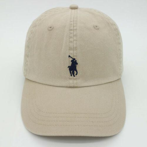RL Embroidered Baseball Cap Hat US