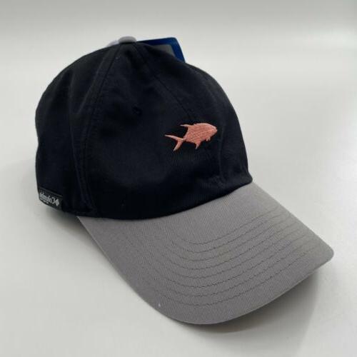 men s adjustable black pink pfg fish