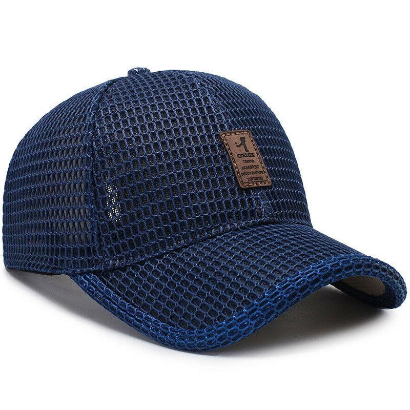 Men's Cap Trucker Hat Snapback Visor Plain Blank Caps