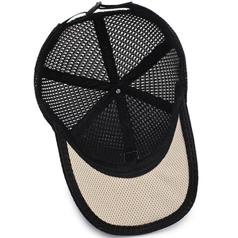 Men's Trucker Hat Snapback Plain Blank Caps