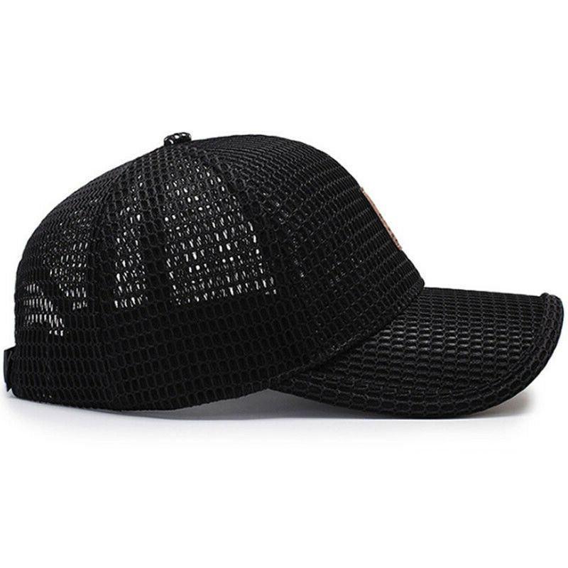 Men's Baseball Trucker Hat Visor Plain Blank Hats Caps