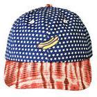 Neff Men's Creeper Snapback Hat USA Blue Baseball Cap Headwe