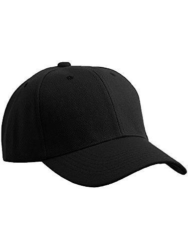 men s plain baseball cap adjustable curved