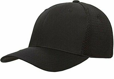 Flexfit Fitted Black, Extra Large