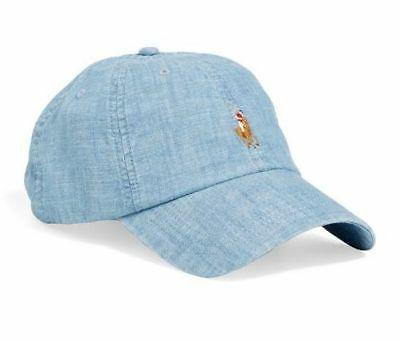 Polo Ralph Lauren Men/Women Chambray Sports Cap /Adjustable