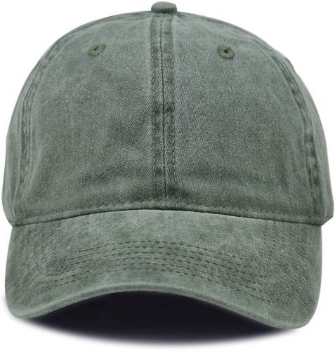 HH HOFNEN Women Washed Twill Baseball Vintage Hat
