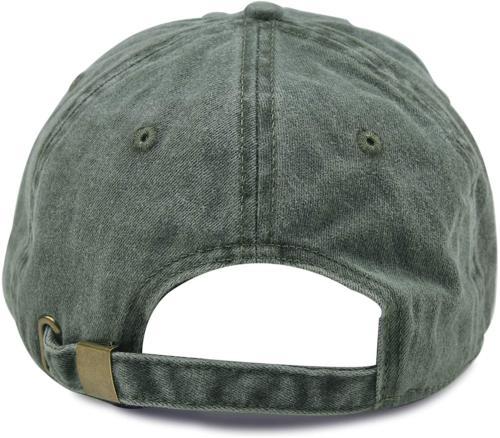 HH Washed Twill Baseball Cap Vintage Hat