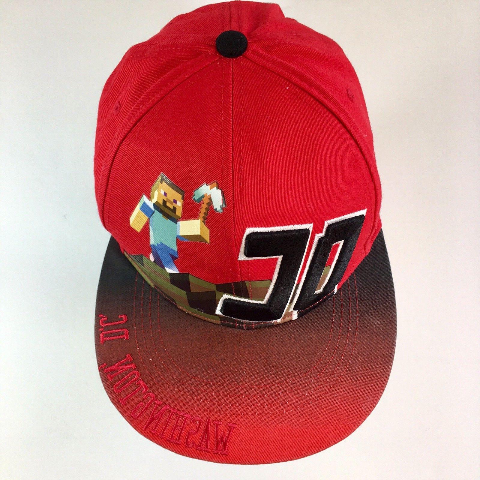 minecraft washington d c baseball cap hat