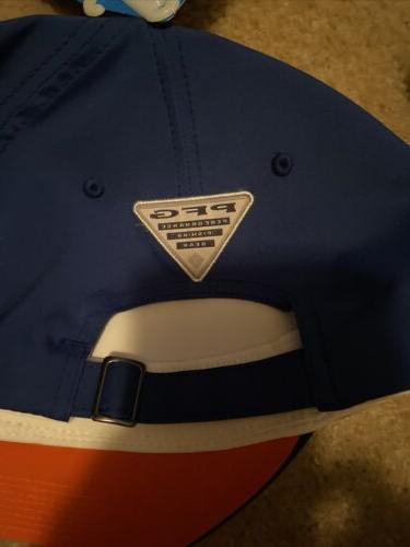 New Baseball PFG 110 Tribal Fish Adjustable Blue