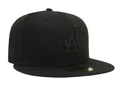 New Era 59Fifty Men Women Los Angeles Dodgers Hat Cap All Bl