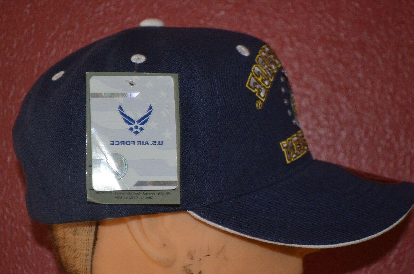 NEW U.S. Veteran baseball Rapid USAF military sewn