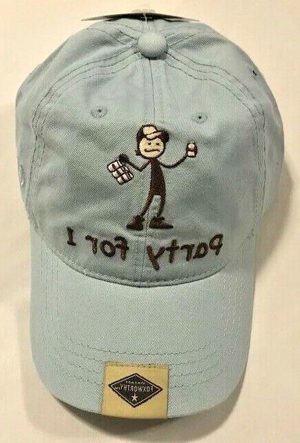 Novelty, Foxworthy Vintage Livin' Up Baseball Hat Choose