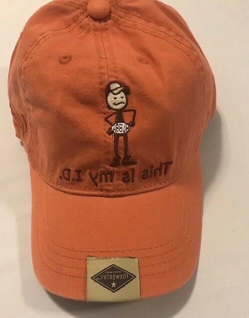 Novelty, Jeff Vintage It Baseball Hat