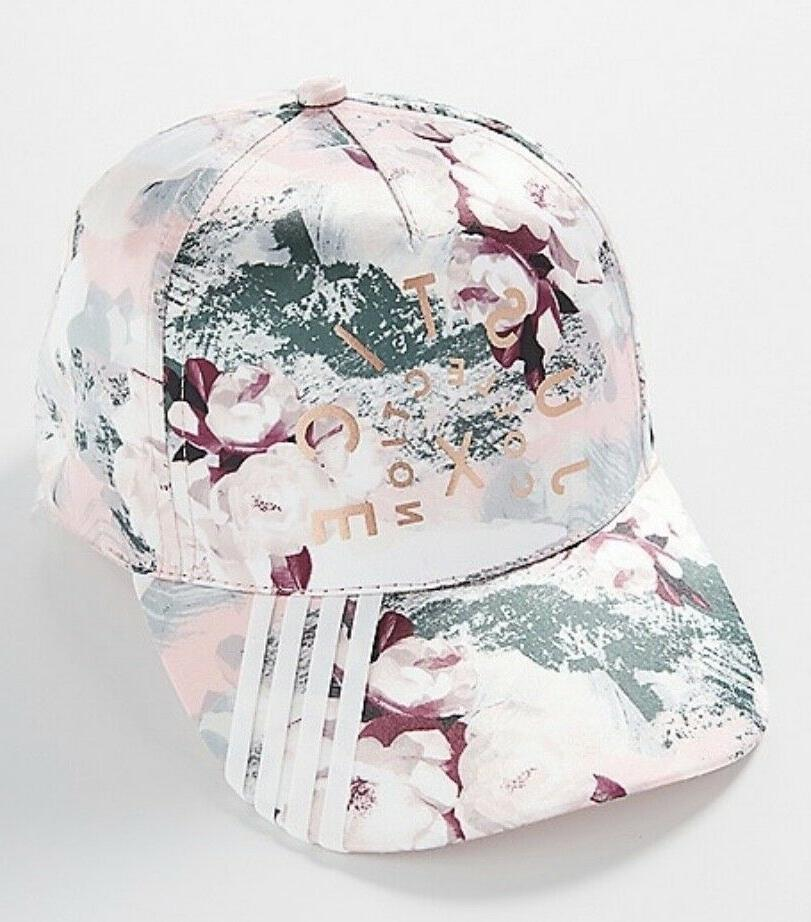 nwt girls floral baseball cap hat sporty