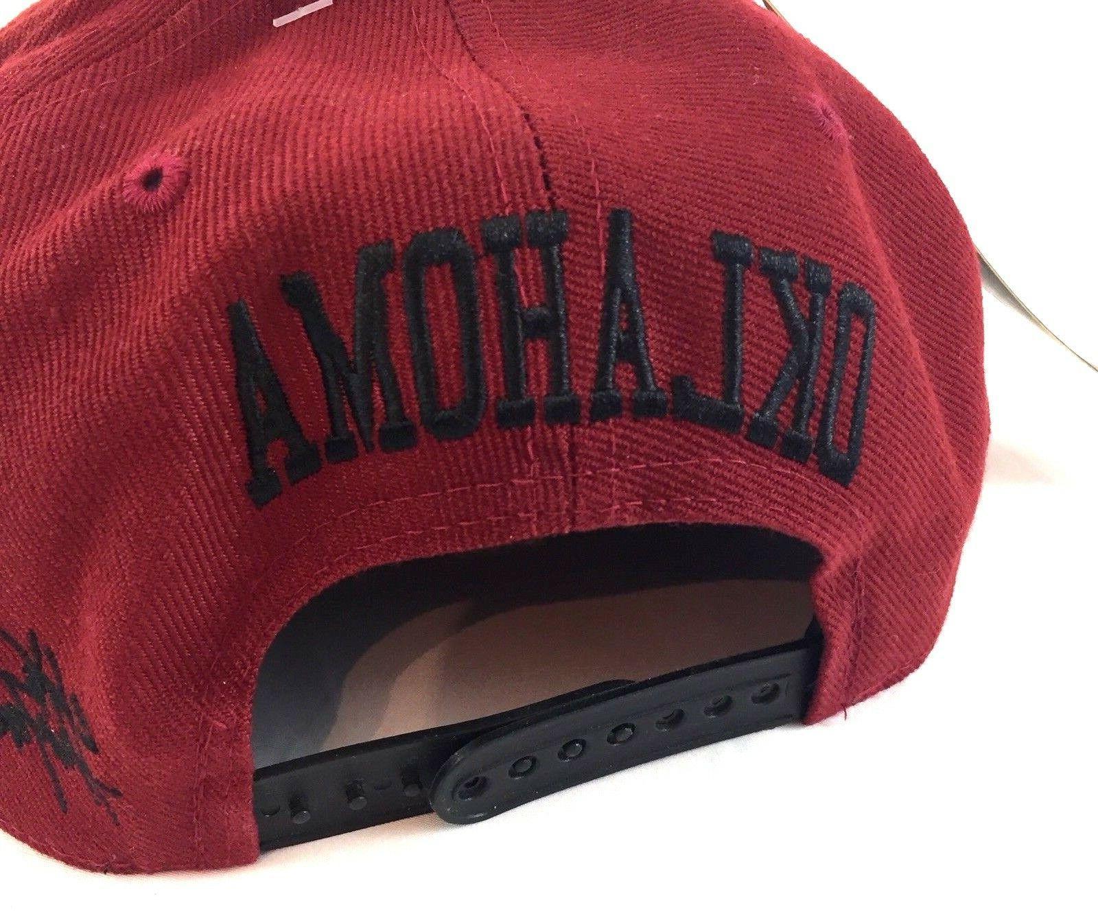 OKLAHOMA Hunter Headwear Flatbilled Sports Hat