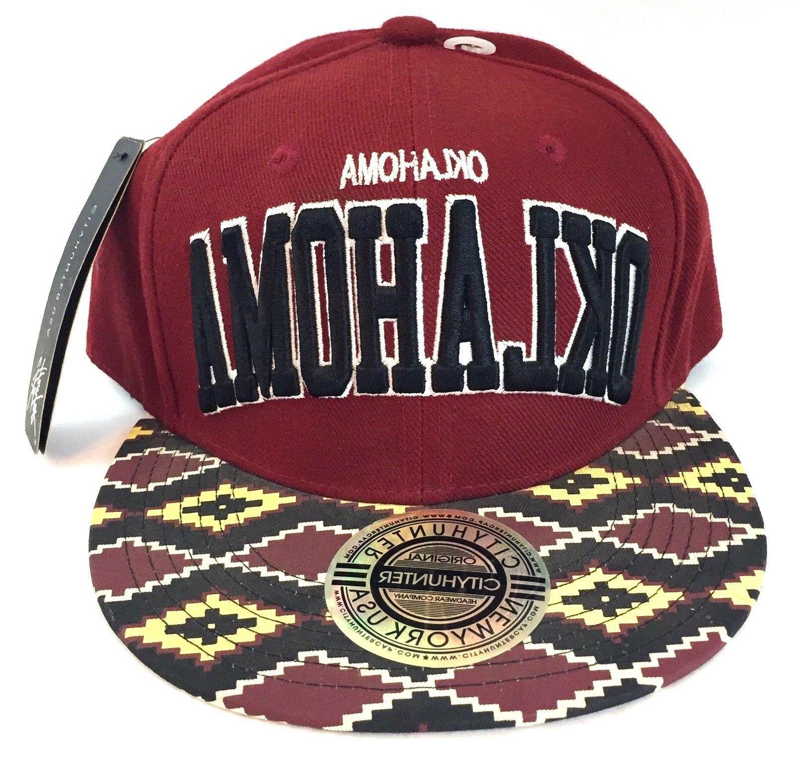 OKLAHOMA Headwear Flatbilled Sports
