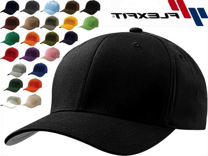 Original Flexfit Cap Blank Fit Hat 6277 Twill