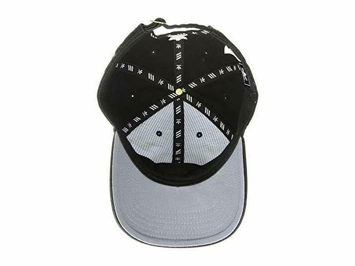 Adidas Mens Relaxed Strapback Hat Black Baseball