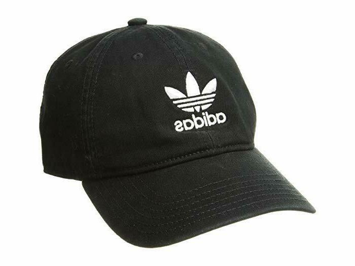 Adidas Originals Mens Strapback Hat Black