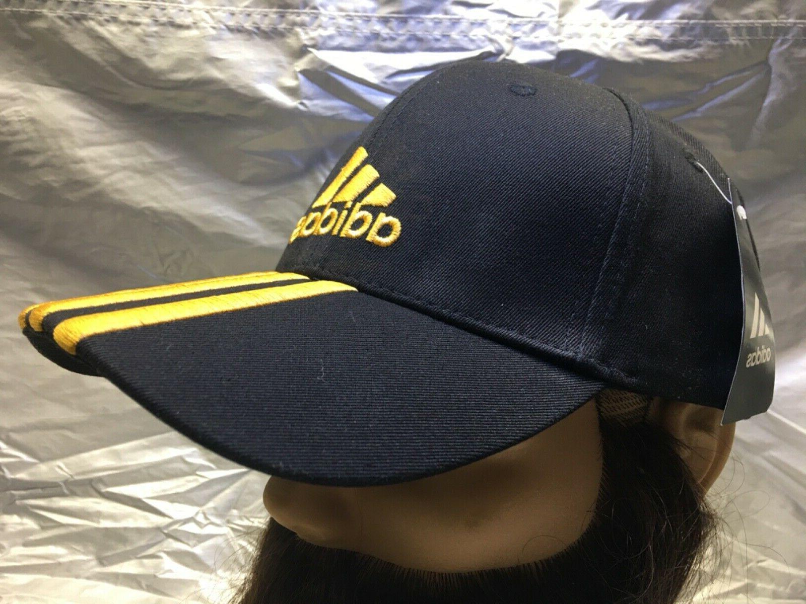 ADIDAS Cap w/Gold Emblem Dad