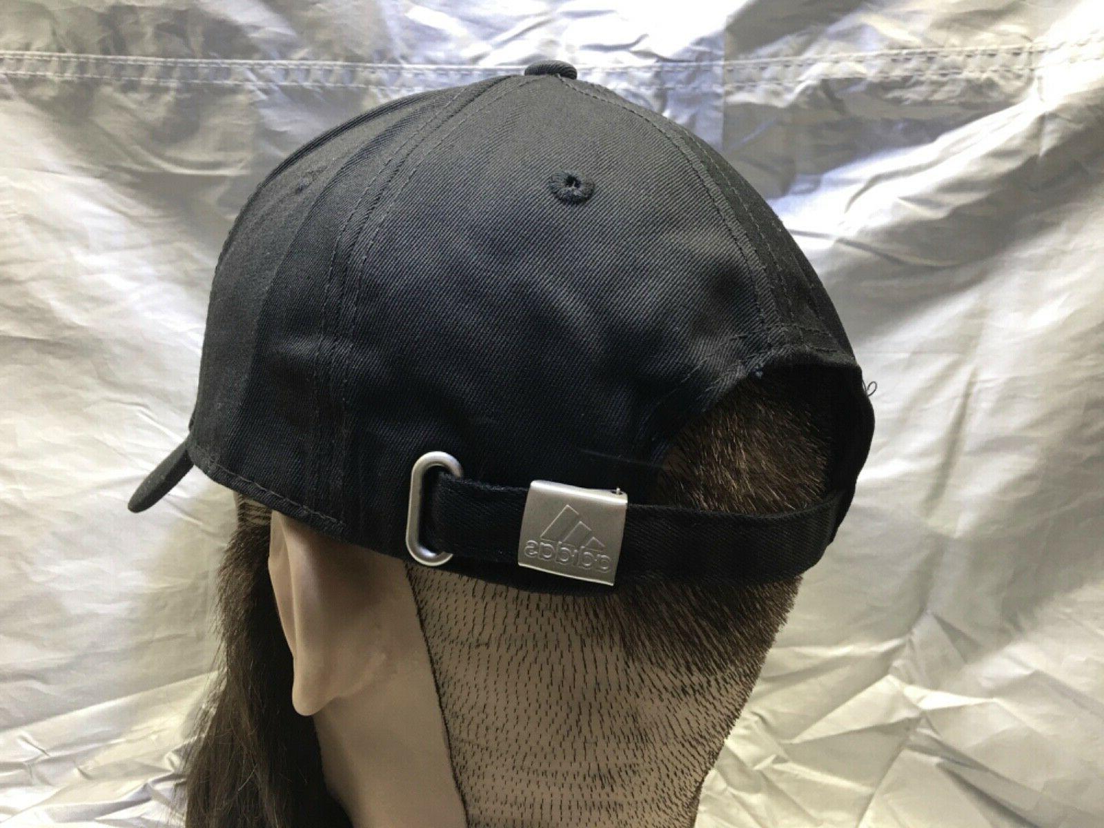 ADIDAS Cap Black Embroidered Emblem Hat