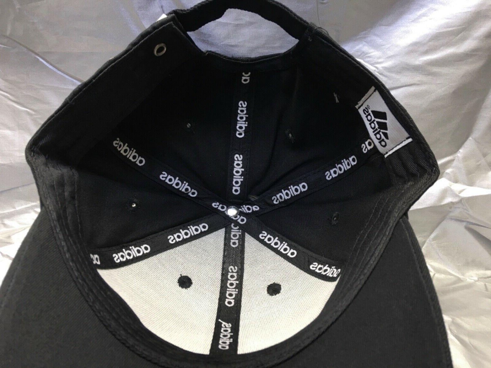 ADIDAS Originals Cap Black w/White Emblem Dad