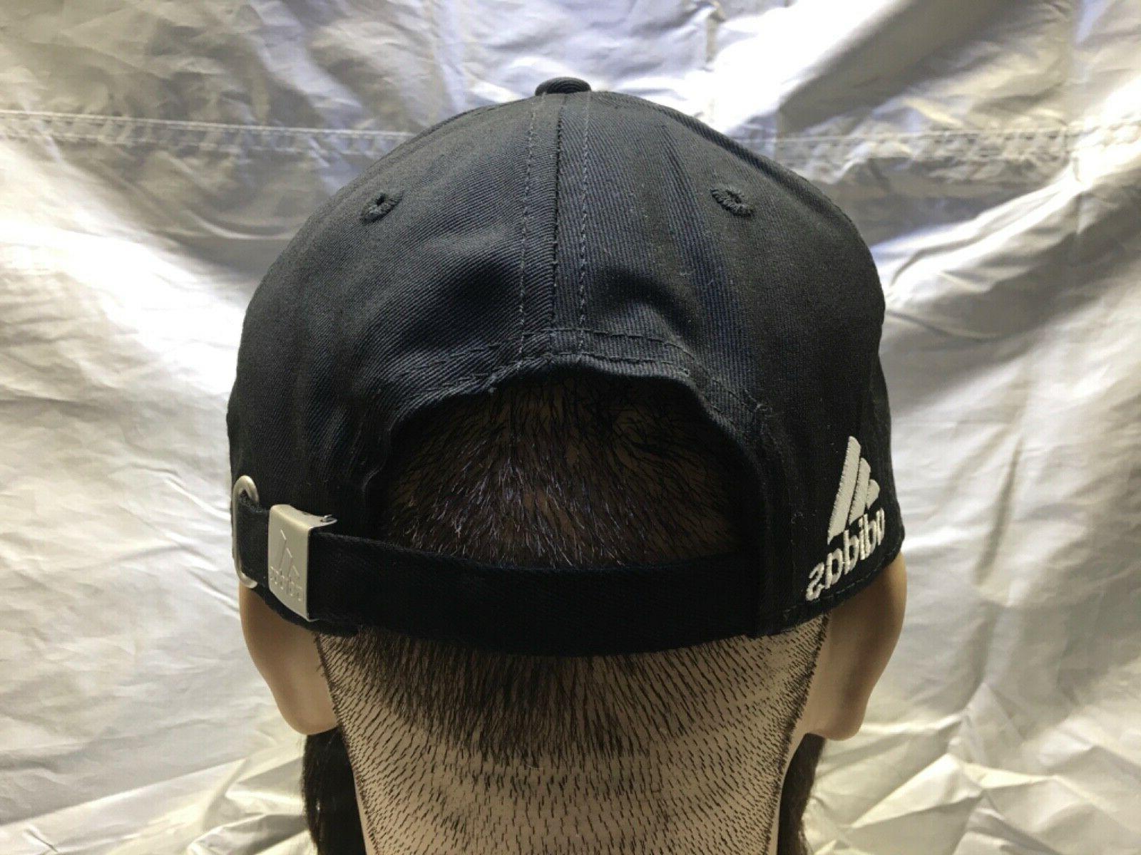 ADIDAS Cap Black w/White Emblem Dad