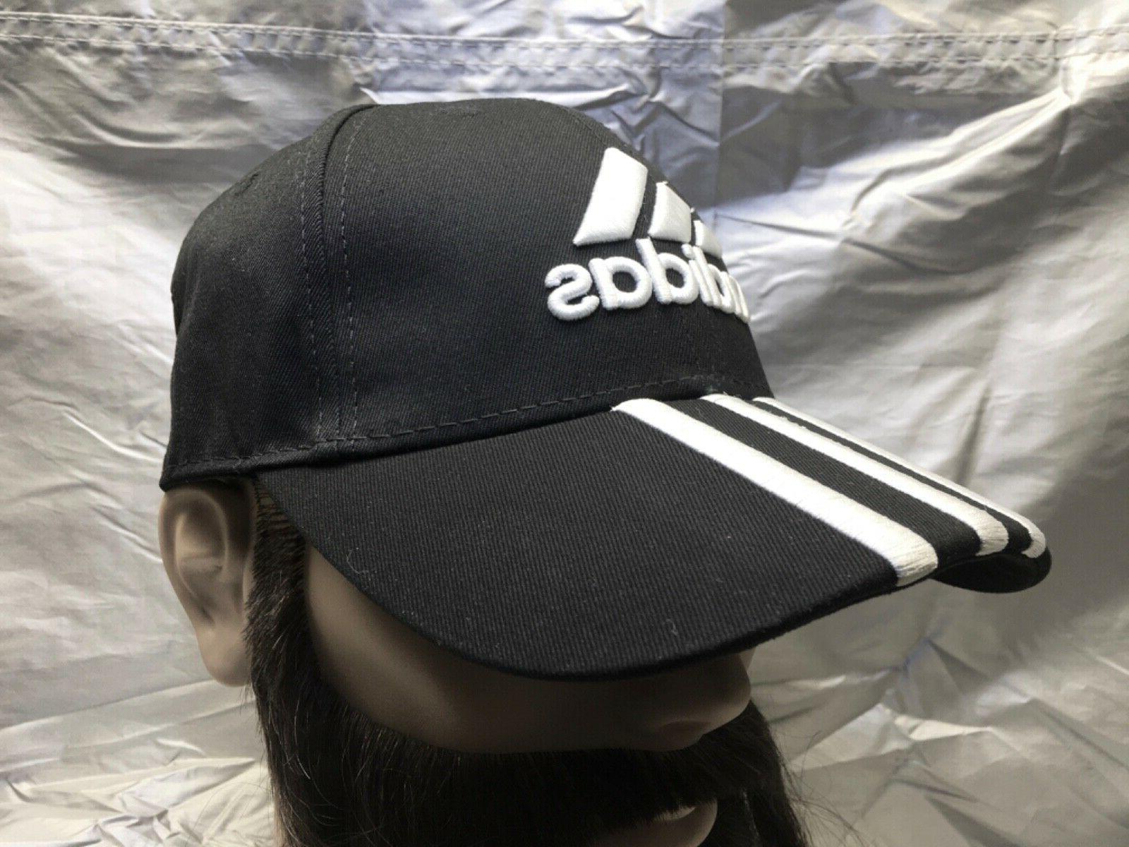 ADIDAS Strapback Cap Embroidered Emblem Dad Hat