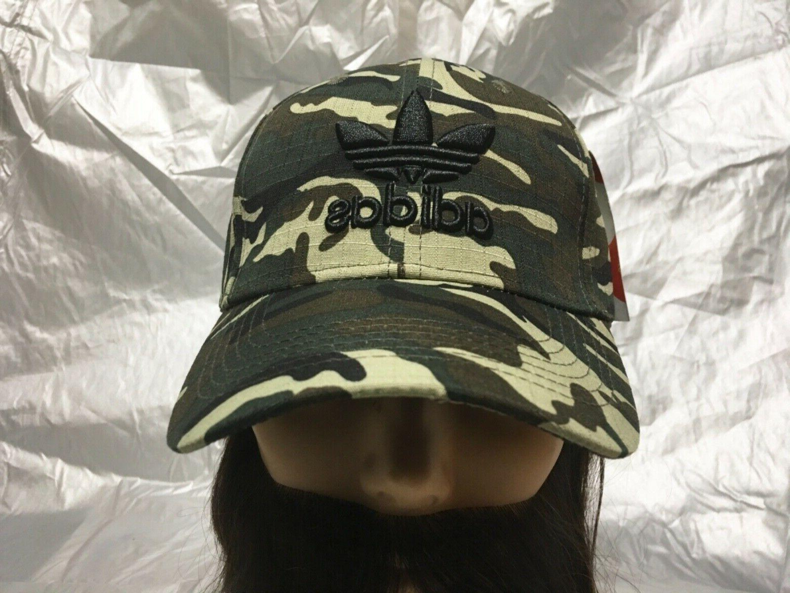 ADIDAS Originals Strapback Trefoil Camouflage Baseball Hat C