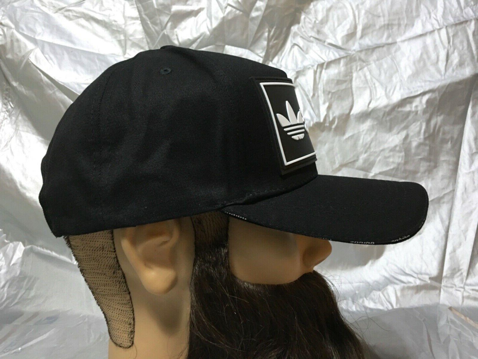 adidas Trefoil SnapBack Baseball Cap Hat Lid Brim Dad