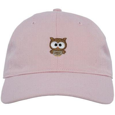 Owl Dad Curved Baseball Cap Strapback City