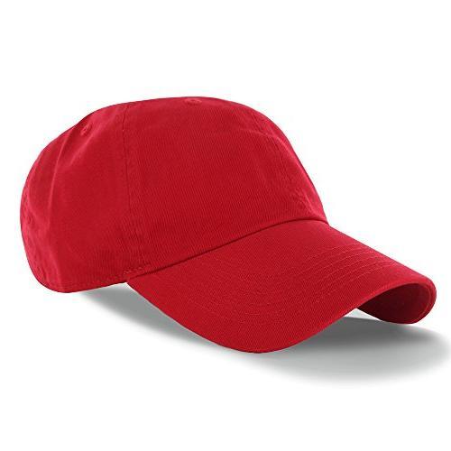 plain 100 percent cotton hat men women