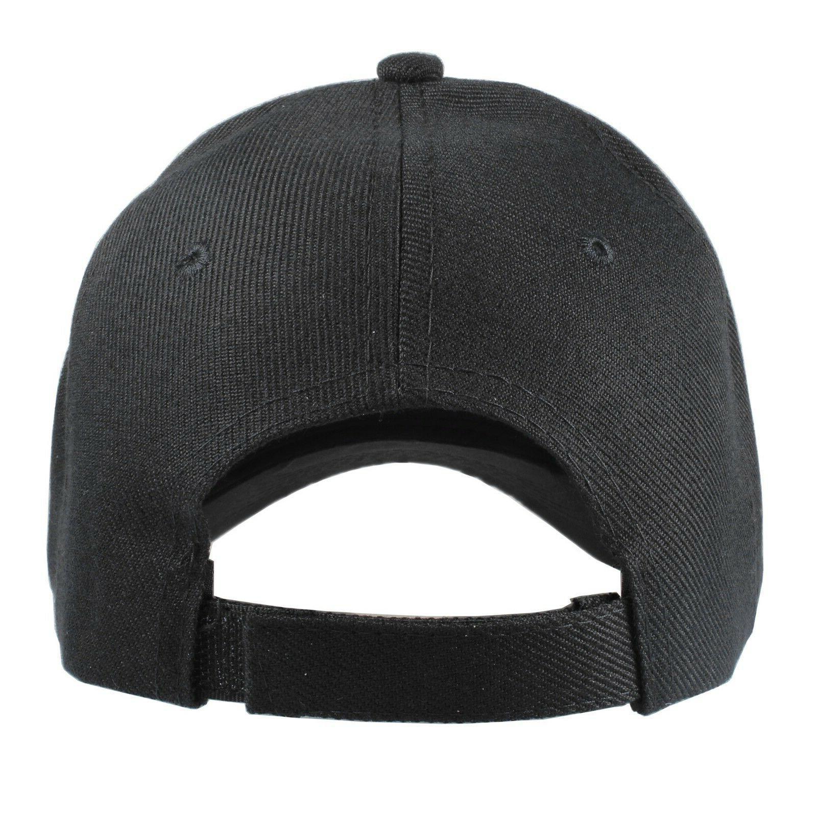 Plain Baseball Hats lot