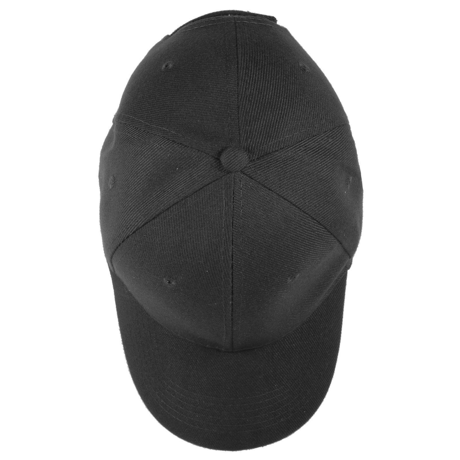 Plain Blank Solid Baseball Hats lot 12pcs