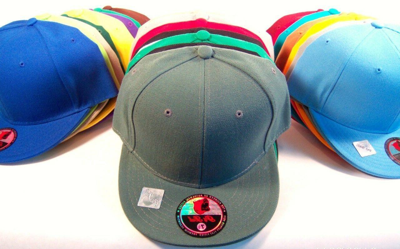 Plain Baseball Bull Hat