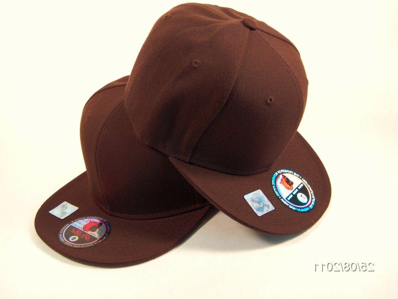Plain Baseball Solid Hat