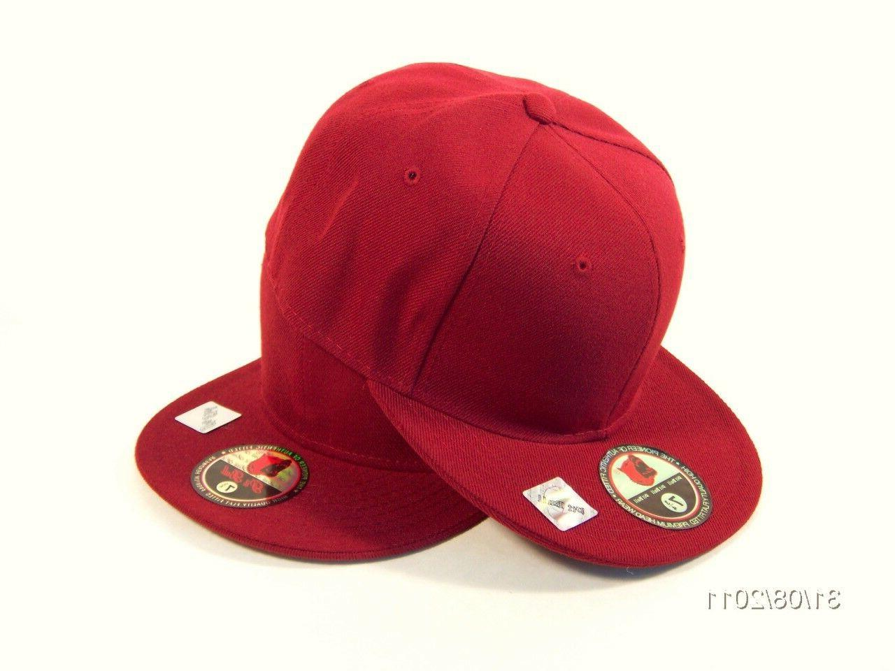 Plain FITTED Hat