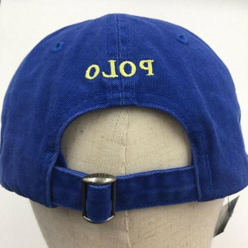 Polo RL Embroidery Pony Mens Adjustable Hat