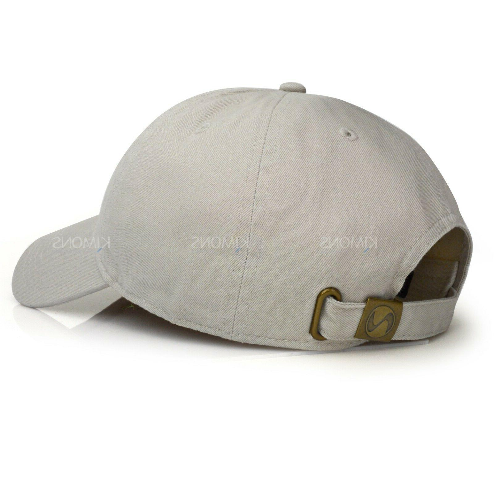 Polo Style Cotton Baseball Cap Ball Hat Mens