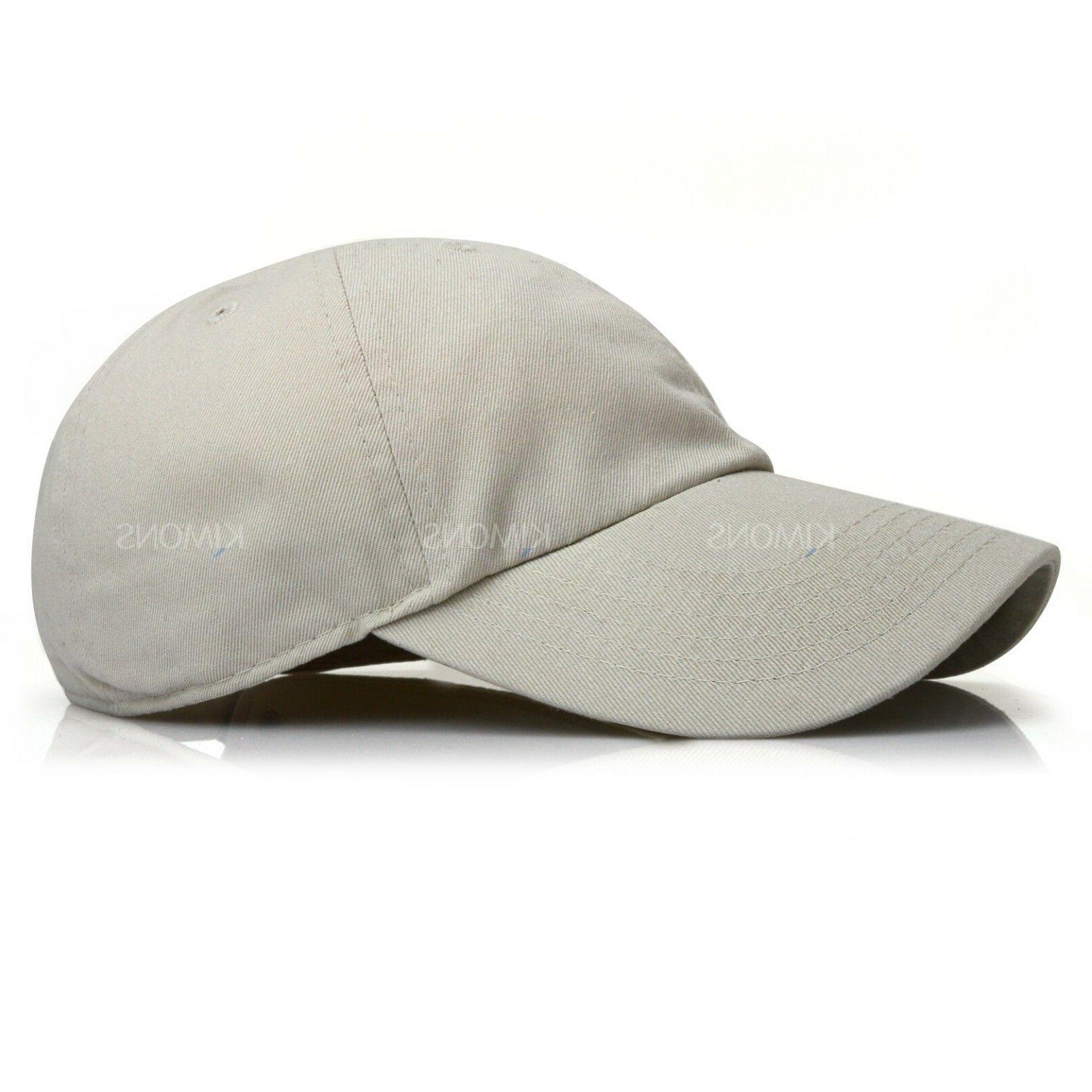 Polo Cotton Cap Adjustable Men