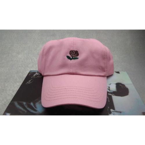Rose Hat Women Men Cotton Floral