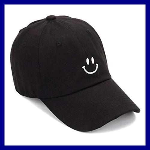 Smiling Adorable Sun Caps Fishing Hat For Men Unisex Teens