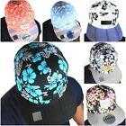 snapback caps 7 panel floral hats baseball