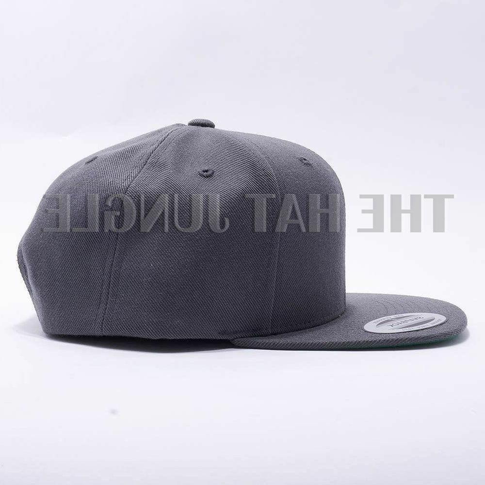 Yupoong Snapback Plain 6089M Cap Wool