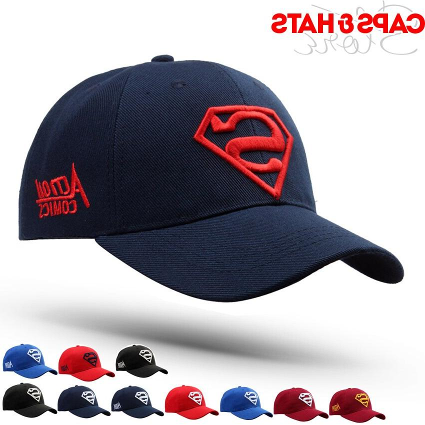 superman baseball cap for adult gorras hombre